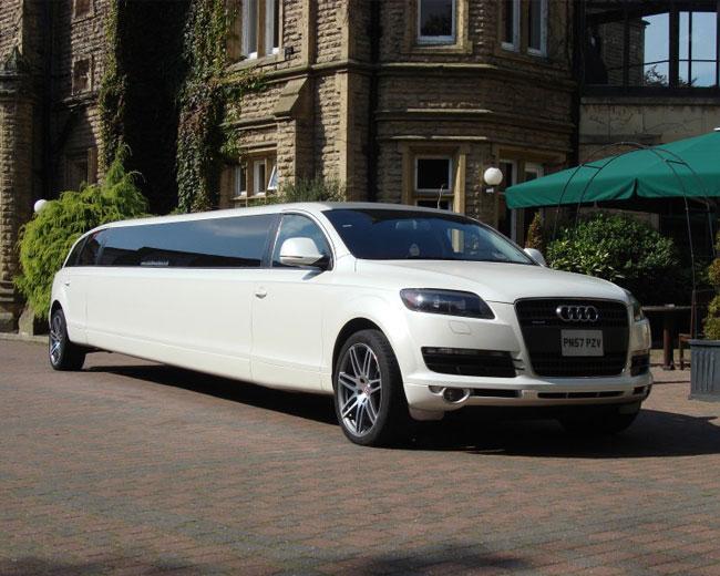 Audi Q7 Limo in UK