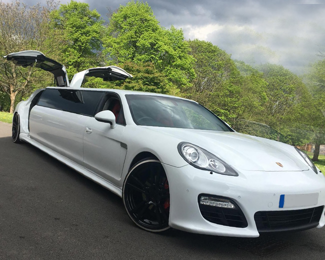 Porsche Panamera Limousine in UK